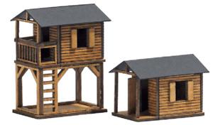 Busch 1486 Gauge H0 - 2 Treehouse # New Original Packaging #