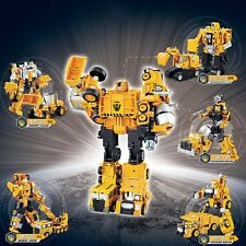 Fashion Engineering Armor Vehicle Deformation Transform Robot Kid Christmas Gift