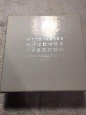 NWOT Authentic MAISON MARTIN MARGIELA 11 Genuine Leather LOGO BUCKLE Belt 42/105