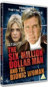 The Return of the Six Million Dollar Man and the Bionic Woman & New Region 2 DVD