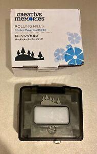 Creative Memories Rolling Hills Border Maker Cartridge - Brand New In Box