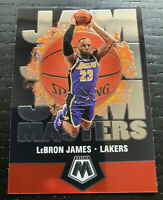 2019-20 Panini Mosaic Basketball LeBron James Jam Masters #16 🏀 Lakers