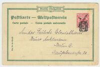 EAST WEST GERMAN AFRICA BAGAMOYO Cover PC ca. 1900 to Germany with Cancel