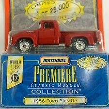 1956 Ford Pick-Up,  Matchbox Premiere Collection World Class Series 17 - 5 of 6