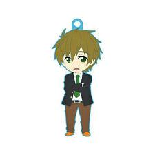 Free! - Iwatobi Swim Club Makoto School Uniform Rubber Phone Strap Charm New
