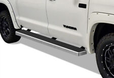 iBoard Running Boards 5 inches Fit 07-20 Toyota Tundra CrewMax Cab