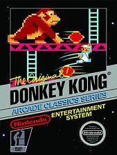 Donkey Kong Classic Nintendo High Quality Metal Magnet 3 x 4 Fridge 9121