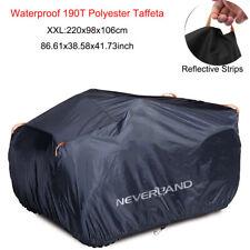 NEVERLAND XXL Waterproof ATV Cover Fit Polaris Honda Yamaha Can-Am Suzuki Black