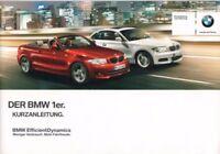 DER BMW 1er - Kurzanleitung zum Fahrzeug 2012 - Automobil - B3638