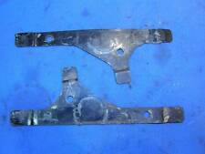 BSA B40 C15 A65 fuel tank knee pad brackets matched pair      B1863