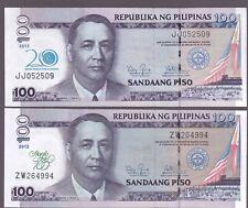 Philippines 100 pesos Manila Hotel + 20th CB ovpt commemorative banknote UNC