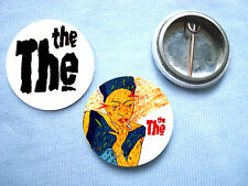 The The-Set Of 2  Badges Matt Johnson Depeche Mode The Normal Mute Human League