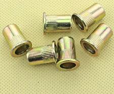 Ecrou à sertir Insert acier zingué M10 (10X13X25) Lot de 6 en 10mm