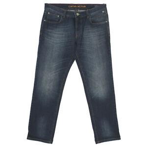 CAMEL ACTIVE Herren Jeans Hose HOUSTON Straight Stretch blau olive schwarz grau