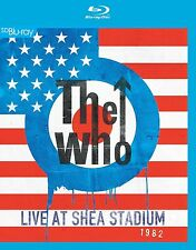 The who-LIVE AT SHEA STADIUM 1982 BLU-RAY NUOVO