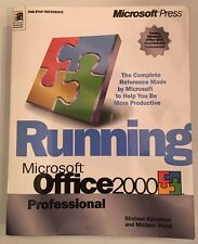 Running Microsoft Office 2000 Professional Manual