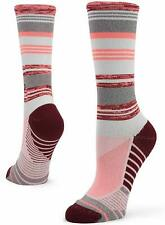 Stance Womens Crew Running Socks Pink Sports Breathable Lightweight Training