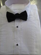 NEW Evening Dress Shirts Standard Collar /Men`s Pleated White Evening Shirt