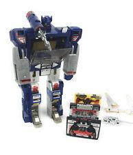 Vintage Transformers CASSETTE MAN  Diaclone Pre Soundwave W/ 3 Cassettes