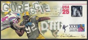 Peterman H.P Combo Packers Reggie White Super Bowl XXXI, Hologram Sc.#U618 F.D