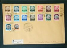 Luxembourg SC# N1-N16, 12.1.1941 Event Cover - Z3306