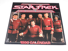 STAR TREK Final Frontier CALENDAR 1990 Great pics