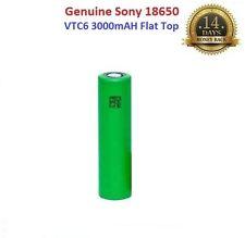 1x Genuine Sony VTC6 18650 3000mAh 15A Flat Top Rechargeable Battery Vape , UK