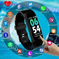 Blood Pressure Smart Watch and Heart Rate Monitor Waterproof for Men & Women