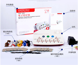 SDZ-II 6 Output Automatic Electronic Acupuncture Treatment Instrument 220V