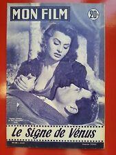 06/03/57 MON FILM n°550 SOPHIA LOREN et RAF VALLONE dans LE SIGNE DE VENUS