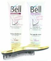 Hairbell Shampoo + Balsamo Flowers E Frutta + Districante Oro Metallizzato