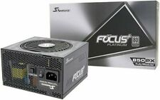 Seasonic Focus Plus+ 850 Watt Platinum Modular PSU/Power Supply