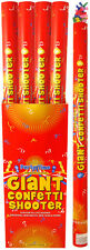 80CM GIANT RED CONFETTI SHOOTER COMPRESSED AIR CANNON PARTY WEDDING POPPERX38264