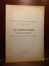 Platania Giovanni : I Cavi Telegrafici Sottomarini - Acireale 1898  Geofisica