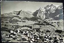 Switzerland~1939 ADELBODEN~Dorf~Bunderspitz ~ RPPC