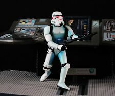 "Hasbro Star Wars 3.75"" Figur 1:18 Airborne 501st Legion Blue Clone Trooper S189"