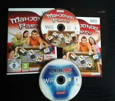Al mahjong fiesta como nuevo + Pro Evolution Soccer 2012 + bien + (Nintendo Wii, 2009)