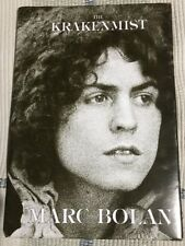 Marc Bolan - The Krakenmist 500 Copies Only TRex Appreciation Society HB Book Ex