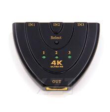 Auto HDMI Switch 4K*2K 3D Mini HDMI Splitter 3 Port Hub HDTV Smart XBox PS3/4/5