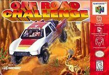 OFF ROAD CHALLENGE N64 NINTENDO 64 GAME COSMETIC WEAR