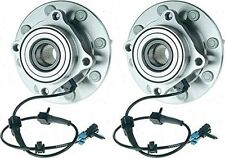 Hub Bearing for 2001 GMC Sierra 2500 HD for 4WD/AWD Only-8 STUD-Front Pair