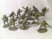 Airfix Australian  Soldiers (my Ref Gr 875) Old Plastic,