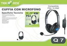 Cuffie Gaming per CONTROLLER WIRELESS XBOX ONE con Controllo Volume e Microfono