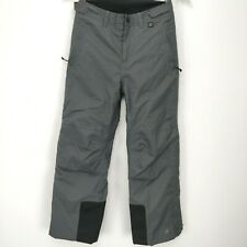 REI Boys Size M Timber Mountain Snow Ski Winter Pants Insulated Fleece Lined