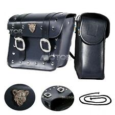 Motorcycle Pannier Saddle Bags Fit Harley Sportster Nightster Roadster XL1200