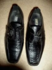Youth Stacey Adams Shoes Black Dress Buckles Size 2M