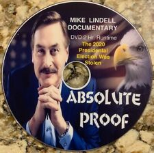 'Absolute Proof' Documentary by Mike Lindell - Dvd - *Free Shipping