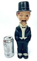 Charlie McCarthy Ventriloquist Dummy Pull String Collectible Toy -Display/Repair
