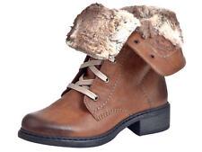 Rieker Damen-Winter -/Schneestiefel mit Schnürsenkeln