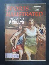 1956 SPORTS ILLUSTRATED MAGAZINE  OLYMPICS